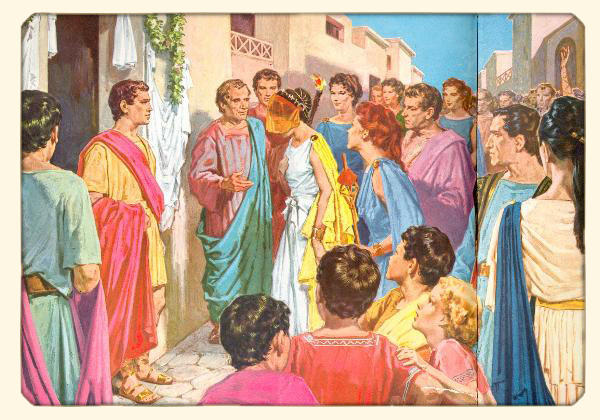 un mariage antique