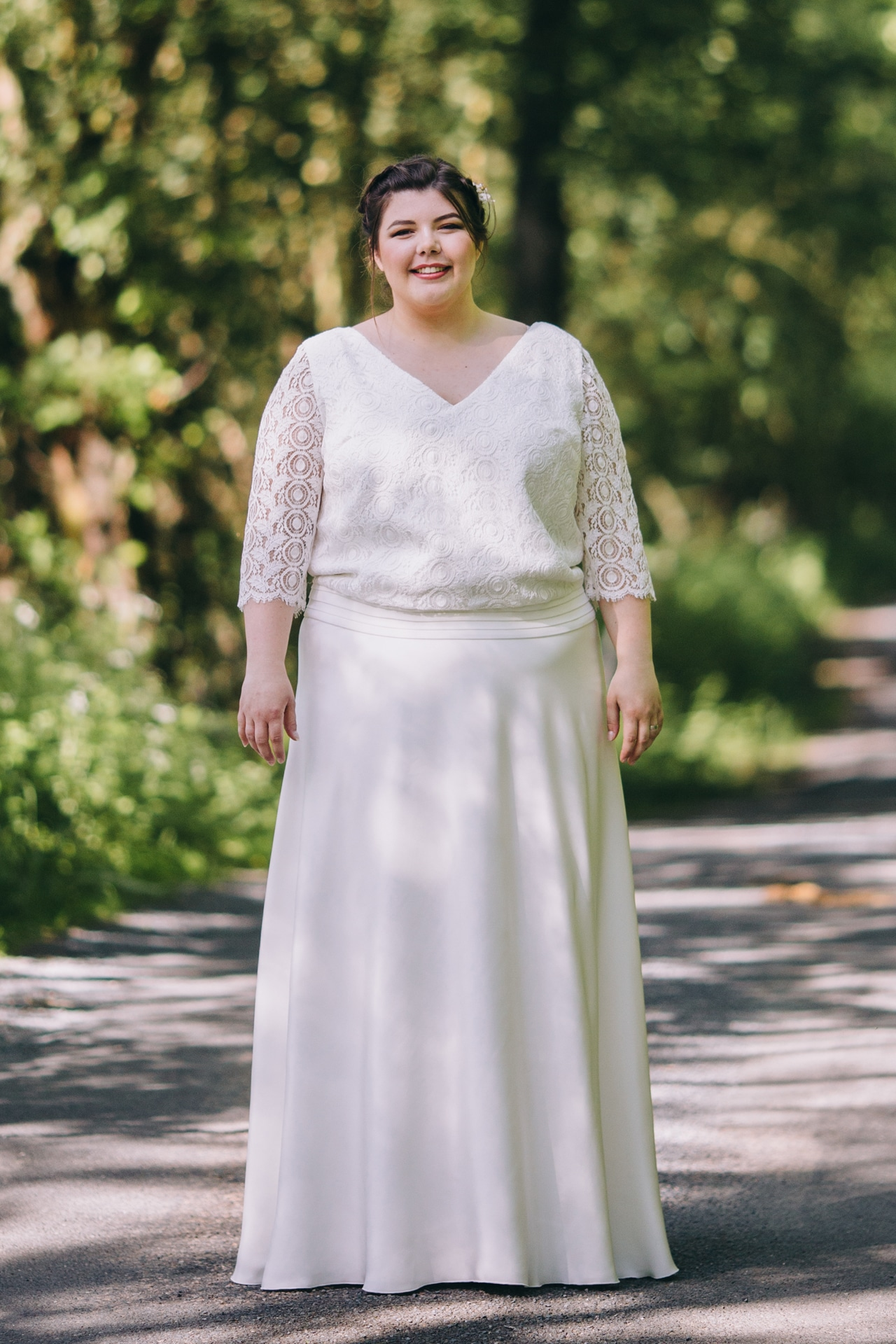 0c52df29f96 collection de robe de mariée grande taille - Causons Mariage